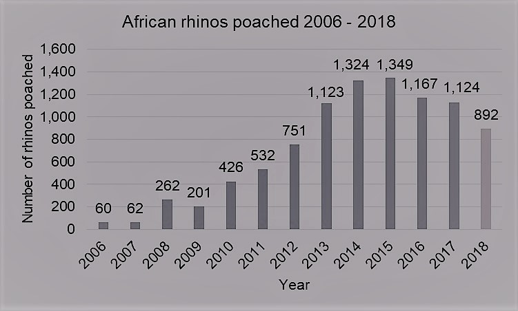 interesting facts about rhino poaching